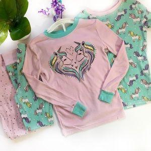 Pajamas Girls Unicorn Size 8 Set